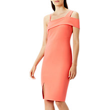 Buy Coast Konnerly Shift Dress, Coral Online at johnlewis.com