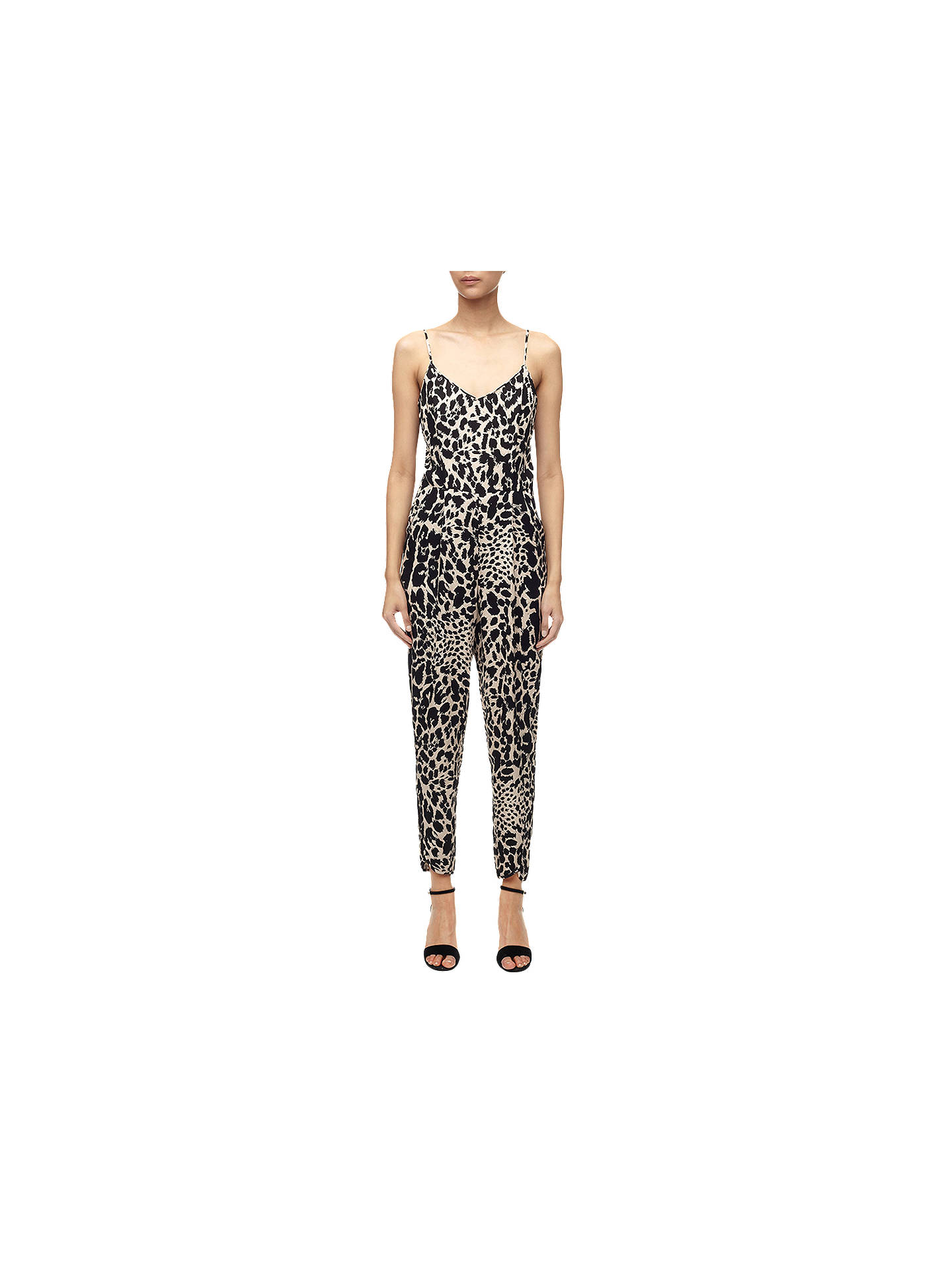 a88cc42d7976 Buy Whistles Lenah Leopard Print Bodycon Jumpsuit