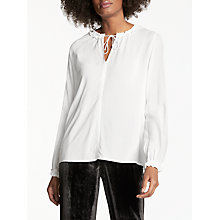 Buy Velvet by Graham & Spencer Long Sleeve Samantha Top Online at johnlewis.com