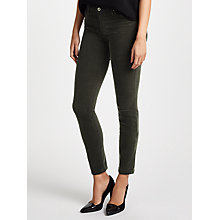 Buy AG The Corduroy Prima Skinny Jeans, Climbing Ivy Online at johnlewis.com