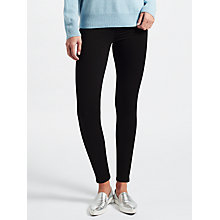 Buy AG The Legging Skinny Jeans, Black Ink Online at johnlewis.com