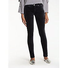 Buy AG The Velvet Legging Jeans, Dark Sky Online at johnlewis.com