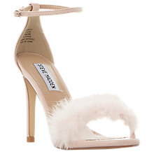 Buy Steve Madden Scarlett Fluffy Stiletto Sandals Online at johnlewis.com