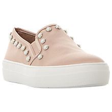 Buy Steve Madden Glacier Studded Flatform Slip On Trainers Online at johnlewis.com
