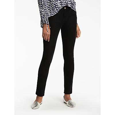 J Brand 811 Mid Rise Skinny Corduroy Jeans, Black