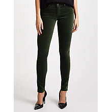 Buy AG The Velvet Legging Jeans, Climbing Ivy Online at johnlewis.com