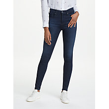 Buy AG The Farrah High Rise Skinny Jeans, Brooks Online at johnlewis.com