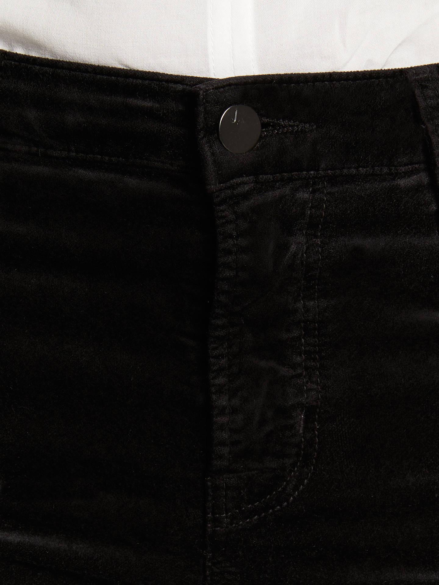 4894e7307fec J Brand Maria High Rise Skinny Velvet Jeans at John Lewis   Partners