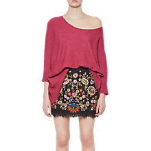 Buy French Connection Cloud Knit Jumper, Radicchio Online at johnlewis.com