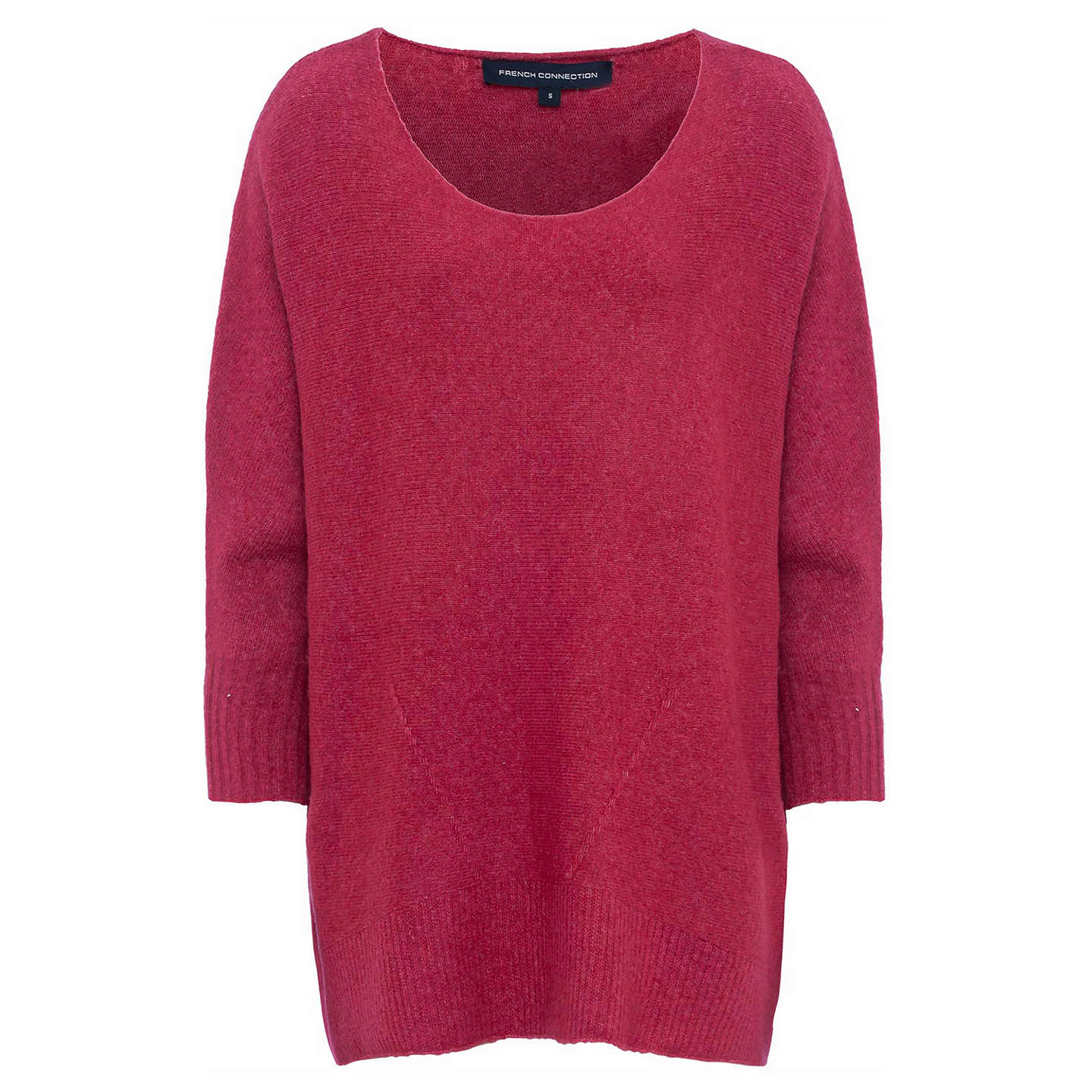 BuyFrench Connection Cloud Knit Jumper, Radicchio, XS Online at johnlewis.com