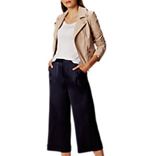 Buy Karen Millen Summer Leather Jacket, Pale Pink Online at johnlewis.com
