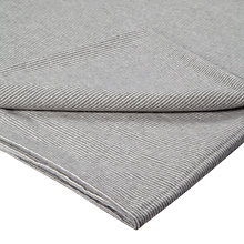 Buy Croft Collection Euan Brushed Cotton Flat Sheet, Slate Online at johnlewis.com