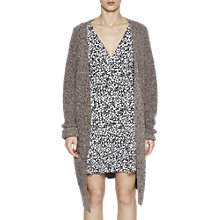Buy French Connection Patsy Oversized Cardigan, Grey Melange Online at johnlewis.com