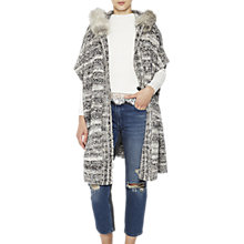 Buy French Connection Irma Long Sleeved Cardigan, Multi Online at johnlewis.com