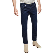Buy Reiss Saunton Tapered Slim Jeans, Indigo Online at johnlewis.com