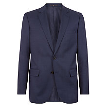 Buy Jaeger Wool Birdseye Regular Fit Suit Jacket, Navy Online at johnlewis.com