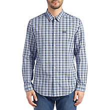 Buy BOSS Green C-Buster Shirt, Medium Blue Online at johnlewis.com