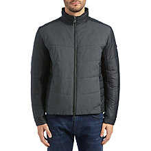 Buy BOSS Green Hero Jacket, Black Online at johnlewis.com