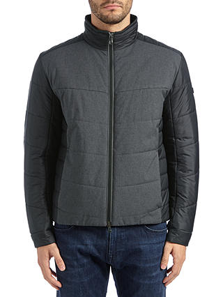 Buy BOSS Hero Jacket, Black, 36R Online at johnlewis.com