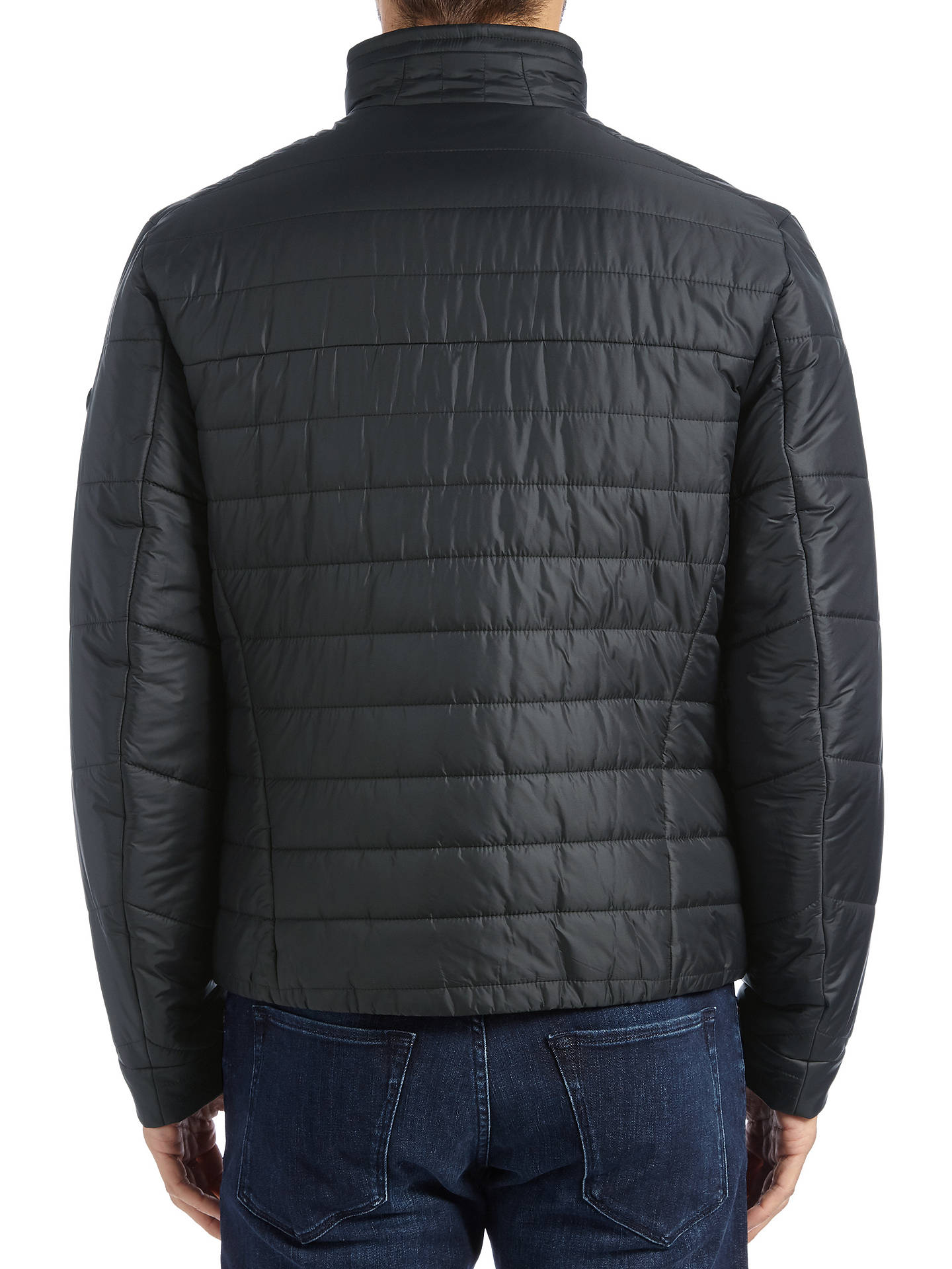 BuyBOSS Green Hero Jacket, Black, 36R Online at johnlewis.com