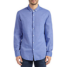 Buy BOSS Green C-Bilia Shirt, Medium Blue Online at johnlewis.com
