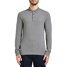 Buy BOSS Orange Rugby Top, Multi/Grey Online at johnlewis.com