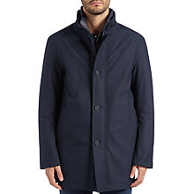 Buy BOSS Green Joxtech Jacket, Navy Online at johnlewis.com