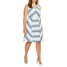 Buy Studio 8 Theola Dress, Blue/White Online at johnlewis.com
