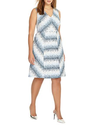 Studio 8 Theola Dress, Blue/White