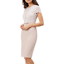 Buy Hobbs Kristy Dress, Latte Beige Online at johnlewis.com