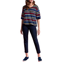 Buy Pure Collection Gassato Cashmere Sweater, Multi Stripe Online at johnlewis.com