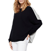 Buy Mint Velvet Blocked Relaxed Jumper, Multi Online at johnlewis.com
