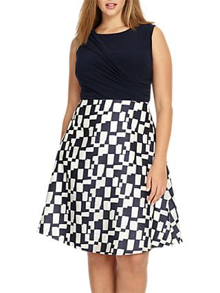 Studio 8 Edyn Flared Dress, Navy