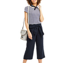 Buy Oasis Wide Leg Twill Trousers Online at johnlewis.com