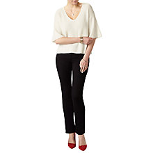 Buy Pure Collection Gassato Cashmere Kimono Jumper Online at johnlewis.com