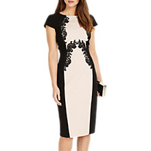 Buy Phase Eight Gilly Lace Trim Dress, Rose Online at johnlewis.com