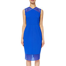 Buy Ted Baker Lucette Bodycon Dress, Bright Blue Online at johnlewis.com