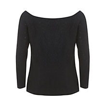 Buy Mint Velvet Embroidered Barton Jumper, Black Online at johnlewis.com