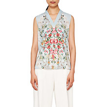 Buy Ted Baker Kisey Patchwork Top, Pale Blue Online at johnlewis.com