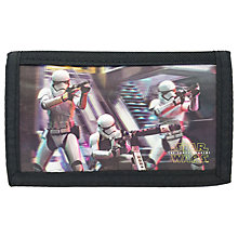 Buy Star Wars Children's Stormtrooper Lenticular Wallet Online at johnlewis.com