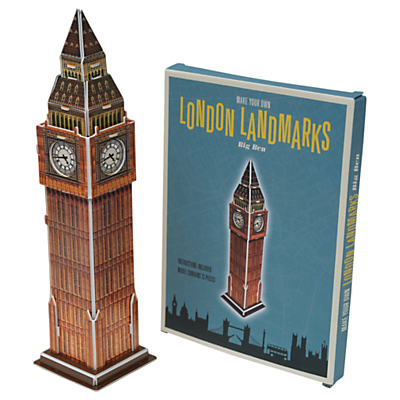 Image of Rex London Make Your Own Big Ben Model Set