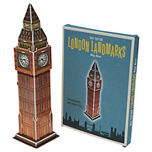 Buy Rex London Make Your Own Big Ben Model Set Online at johnlewis.com
