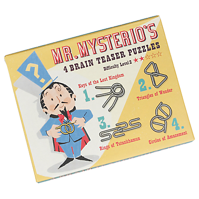 Image of Rex International Mr Mysterio's Brain Teaser Puzzles