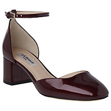 Buy L.K. Bennett Andrea Block Heeled Court Shoes Online at johnlewis.com