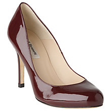 Buy L.K. Bennett Stila Patent Leather Court Shoes, Oxford Red Patent Online at johnlewis.com