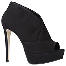 Buy Carvela Giovanni Stiletto Heeled Shoe Boots, Black Online at johnlewis.com