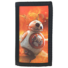 Buy Star Wars Children's BB8 Lenticular Wallet Online at johnlewis.com