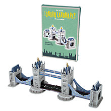Buy Rex London Make Your Own Tower Bridge Model Online at johnlewis.com