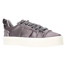 Buy Carvela Latimer Lace Up Trainers, Grey Online at johnlewis.com