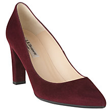 Buy L.K. Bennett Tess Block Heeled Court Shoes Online at johnlewis.com